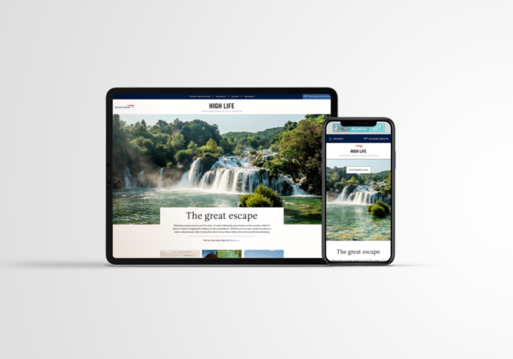 British Airways' om bord-magasin High Life vil heretter kun være tilgjengelig digitalt