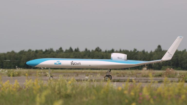Se konseptflyet Flying-V er i lufta for første gang