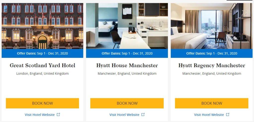 500 ekstra bonuspoeng per natt når du bor på nye Hyatt-hoteller
