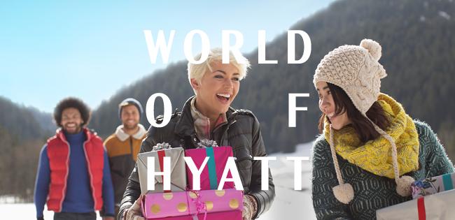 Ny kampanje fra Hyatt med triple poeng og rollover