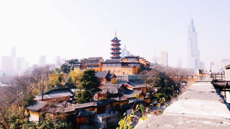 Tempel, Nanjing, Kina