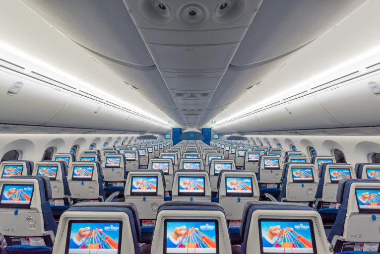 KLM kabin