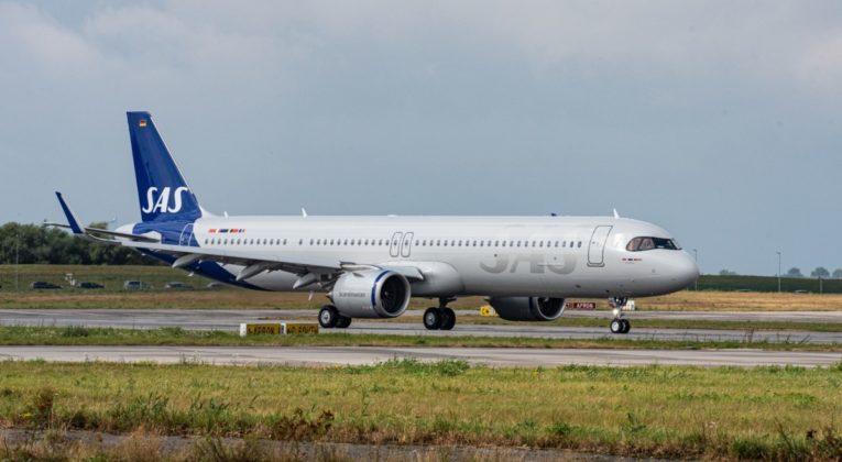 SAS mottar sin første Airbus A321LR