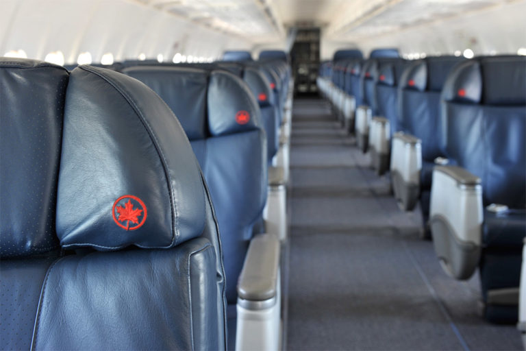 Air Canada Jetz Airbus A319 all-business class