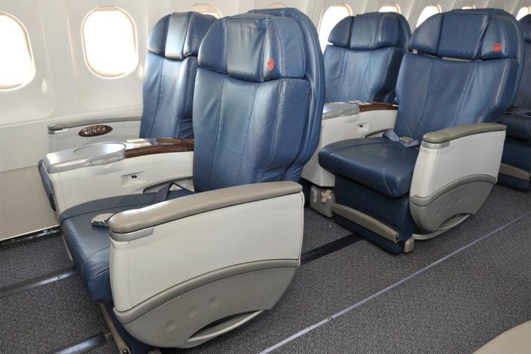 Air Canada Jetz Airbus A319 all-business class