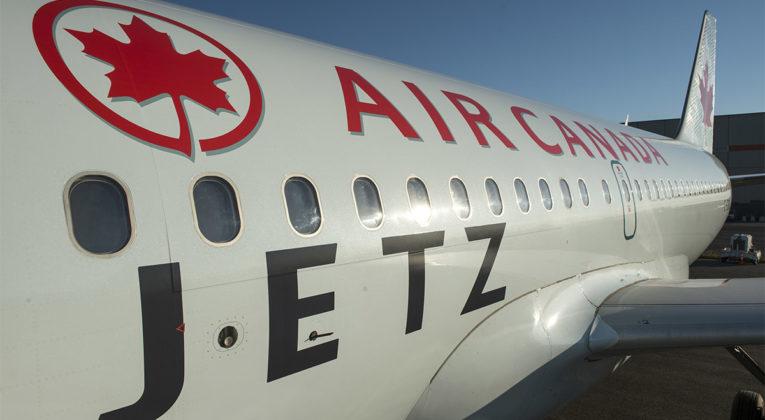 Air Canada Jetz Airbus A319