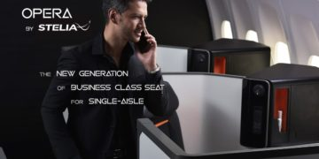 STELIA Aerospace OPERA business class-sete