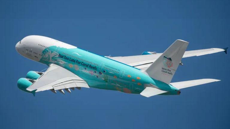 Hi Fly Airbus A380 NH-MIP